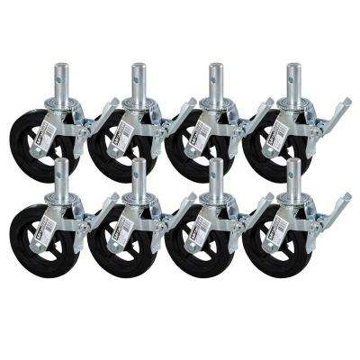 8 in. Scaffold Caster Wheel (8-Pack)