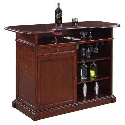 Ridgeline 5-ft Home Bar Set w/ Storage