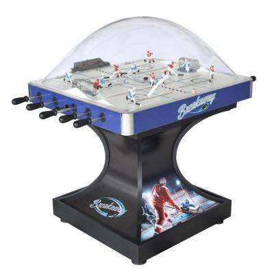 Breakaway Dome Hockey Table with E-Z Grip Handles and LED Scoring Unit