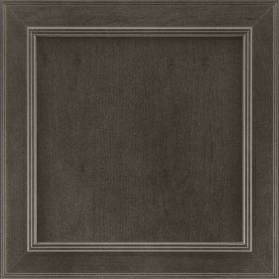 14-9/16 in. x 14-1/2 in. Cabinet Door Sample in Brookland Cherry Slate