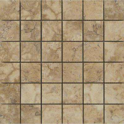 Lucerne Pilatus 12.99 in. x 12.99 in. x 10mm Porcelain Mesh-Mounted Mosaic Tile (1.17 sq. ft.)