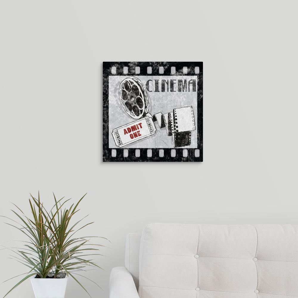 """Cinema"" by Great BIG Canvas Canvas Wall Art"
