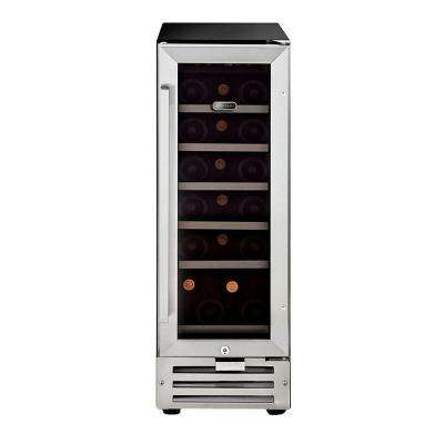 18-Bottle Built-In Wine Refrigerator in Stainless Steel