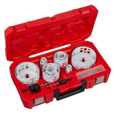 Hole Dozer Plumbers Bi-Metal Hole Saw Set (18-Piece)