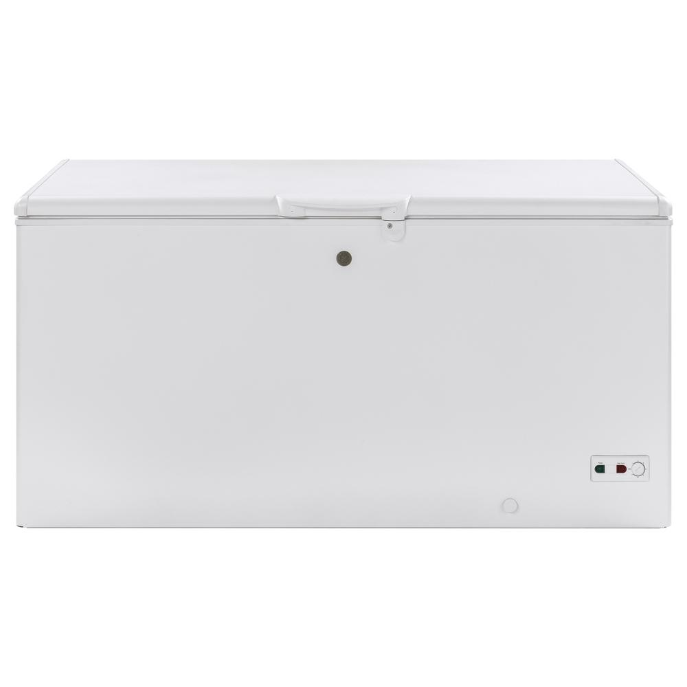 GE GE Gara Ready 15.7 cu. ft. Manual Defrost Chest Freezer in White