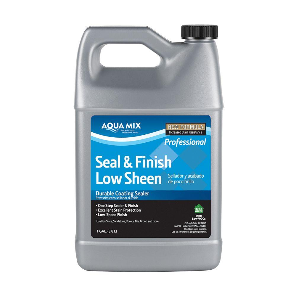 Custom Building Products Aqua Mix 1 Gal. Seal and Finish Low Sheen Sealer