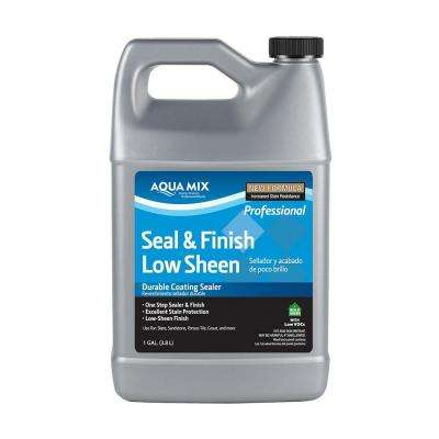 Aqua Mix 1 Gal. Seal and Finish Low Sheen Sealer