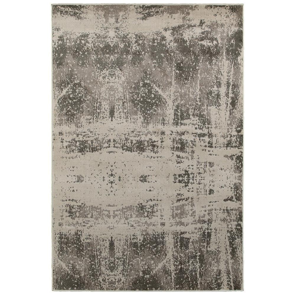 Adana White/Beige 1 ft. 10 in. x 3 ft. 1 in. Vibrant Indoor Area Rug