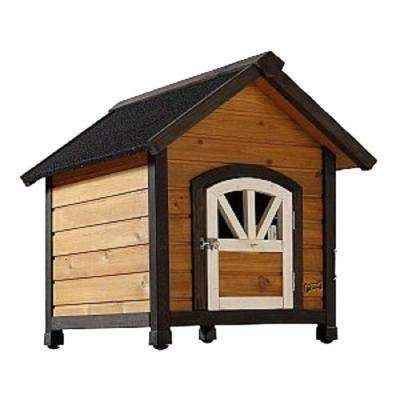 2.29 ft. L x 2.13 ft. W x 2.31 ft. H Small Doggy Den Dog House