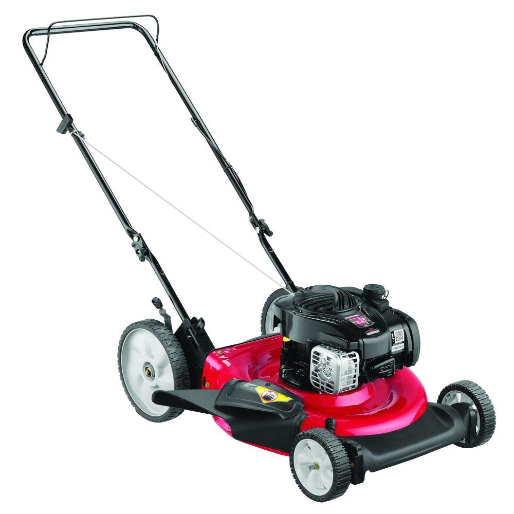 yard machines refurbished 21 in  140cc walk behind gas