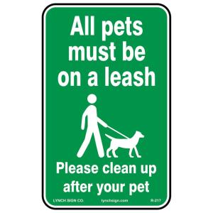 12 in  x 8 in  Plastic No Pets Dogs Allowed Sign-PSE-0109