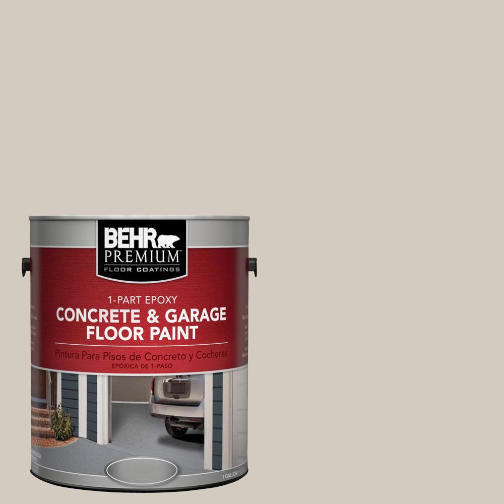 BEHR Premium 1 gal N2202 Ashen Tan 1Part Epoxy Concrete and