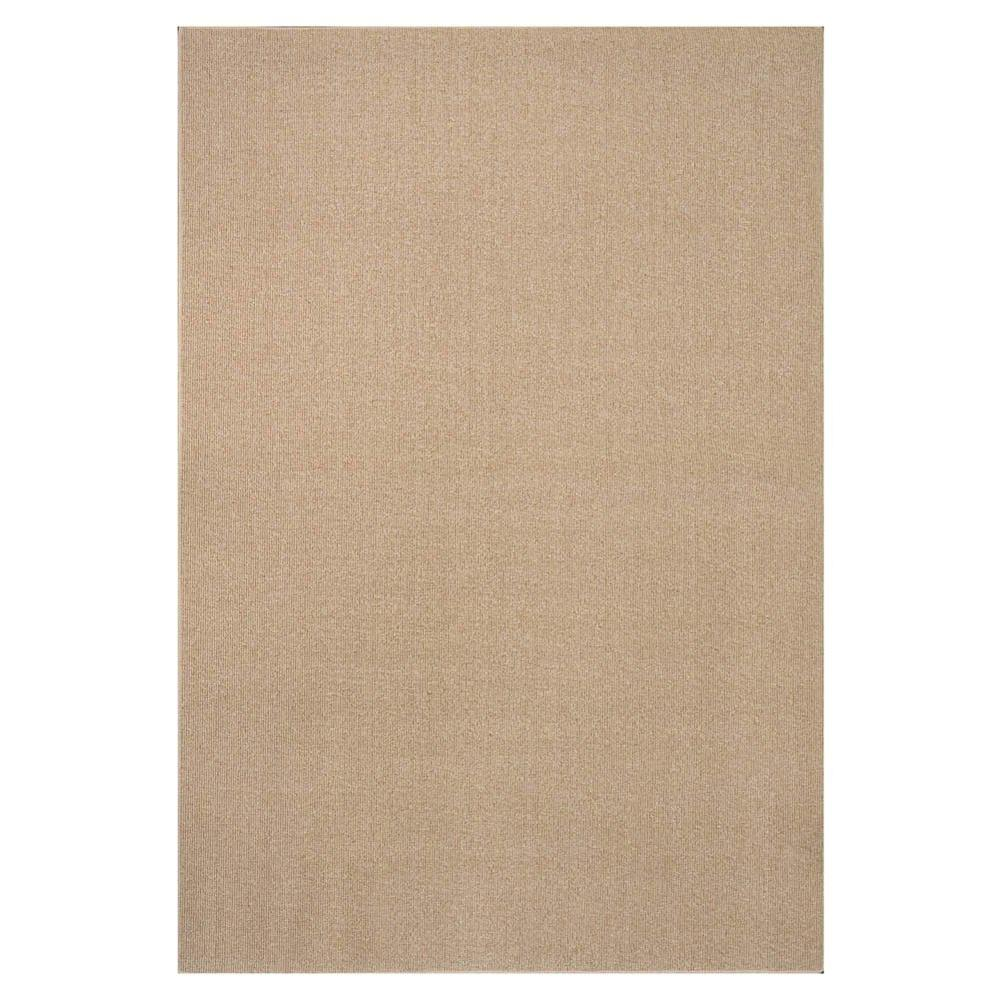 Natco Sisal Natural 8 Ft X 12 Bound Carpet Remnant Ss812hd The Home Depot