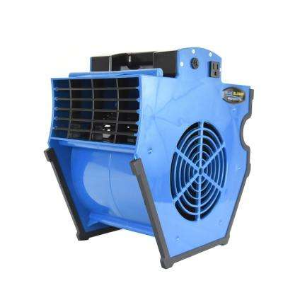 Blue Blower Multi-Position Professional Air Mover - 1200 CFM
