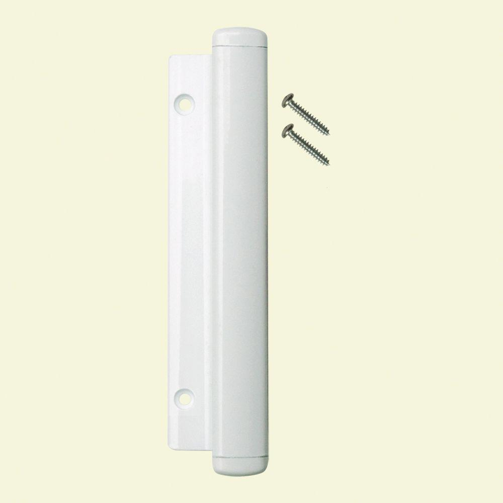 LOCKiT! White Sliding Door Handle