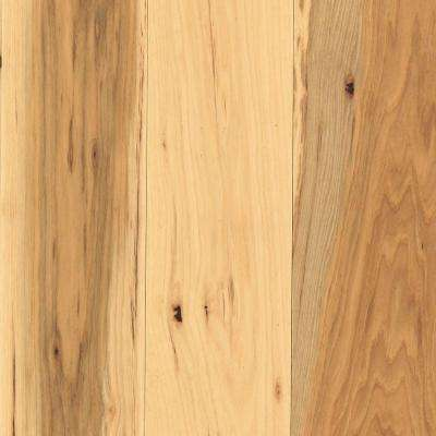 Take Home Sample - Arlington Country Natural Hickory Solid Hardwood Flooring - 5 in. x 7 in.