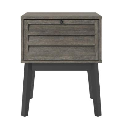 Gammon Gray Oak Nightstand