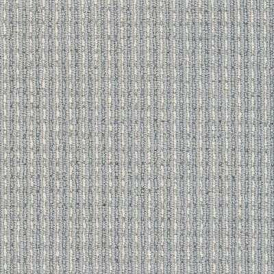 Carpet Sample - Upland Heights - Color Ocean Mist Pattern Loop 8 in. x 8 in.