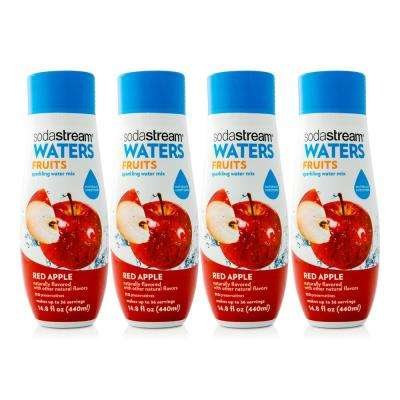 440 ml Waters Fruits Sparkling Red Apple Drink Mix (Case of 4)