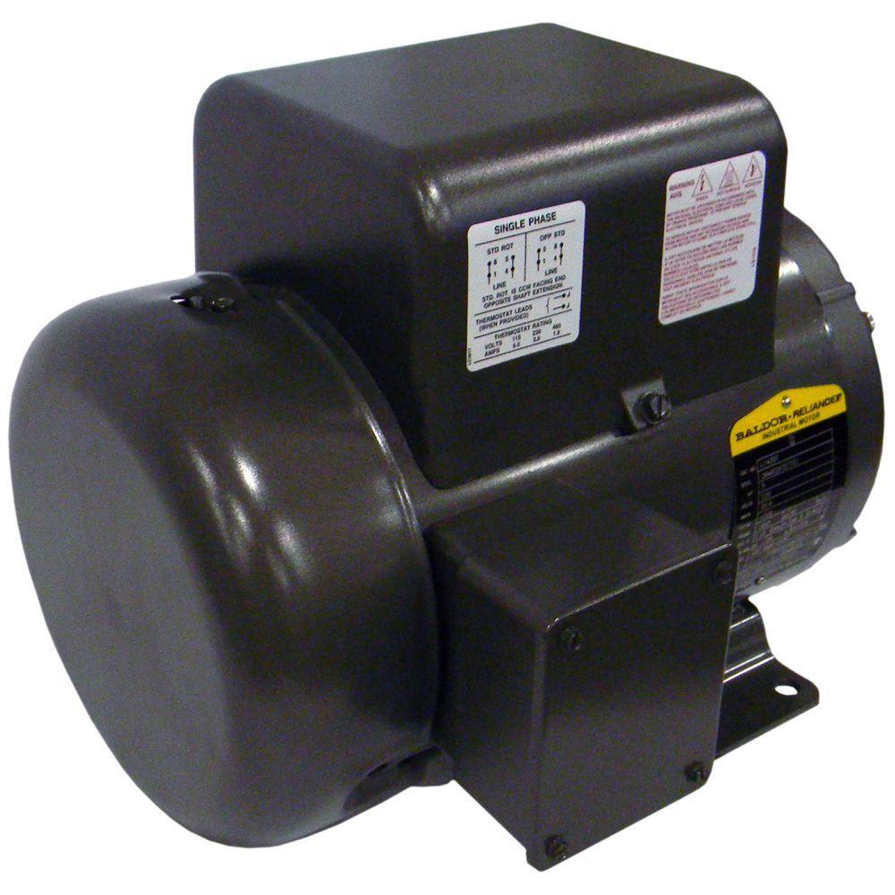 5 Rhp 4 Pole Baldor Electric Air Compressor Motor 160 0291