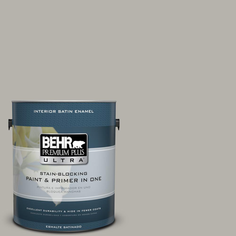 1 gal. #PPU25-07 Arid Plains Satin Enamel Interior Paint