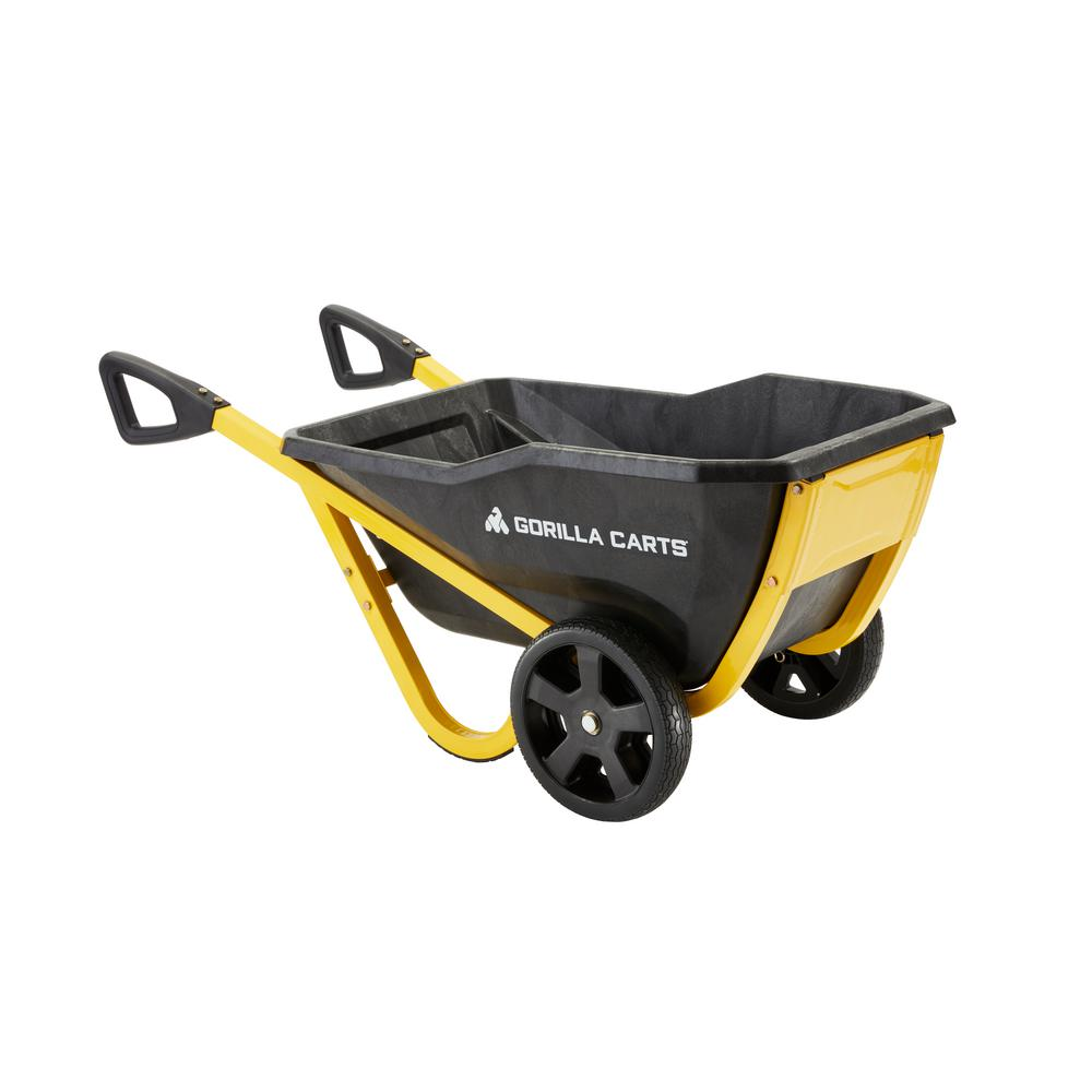Gorilla Carts 7 cu. ft. Evolution Poly Yard Cart
