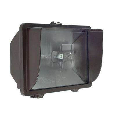 Sterns 1-Light Bronze Outdoor Flood Light
