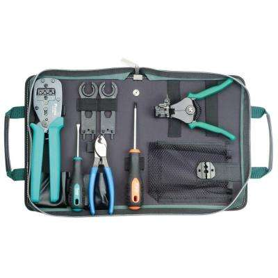 MC3 and MC4 Solar Crimping Tool Kit (9-Piece)