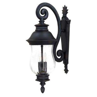 The great outdoors by minka lavery outdoor wall mounted lighting newport 3 light heritage outdoor wall mount workwithnaturefo