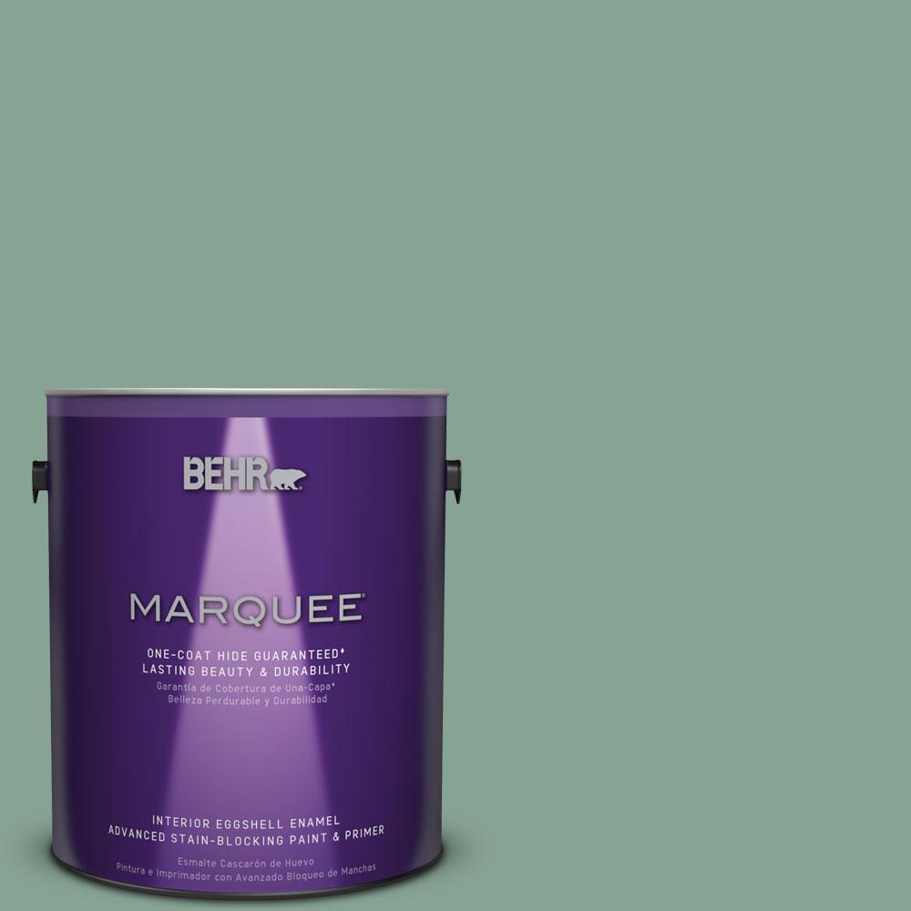 1 gal. #T16-12 Modern Mint Interior Eggshell Enamel Paint