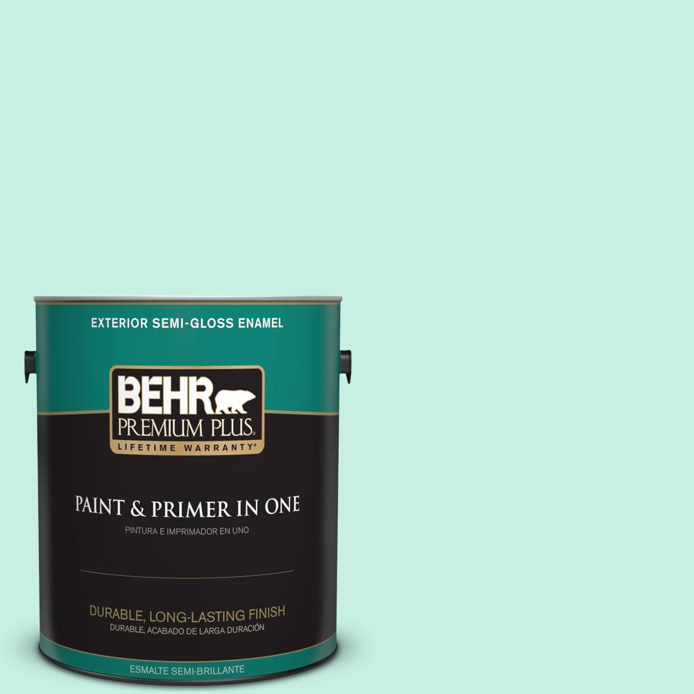 1-gal. #P430-1 Summer House Semi-Gloss Enamel Exterior Paint