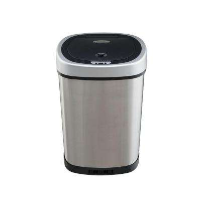11.1 Gal. Stainless Steel Motion Sensing Touchless Trash Can