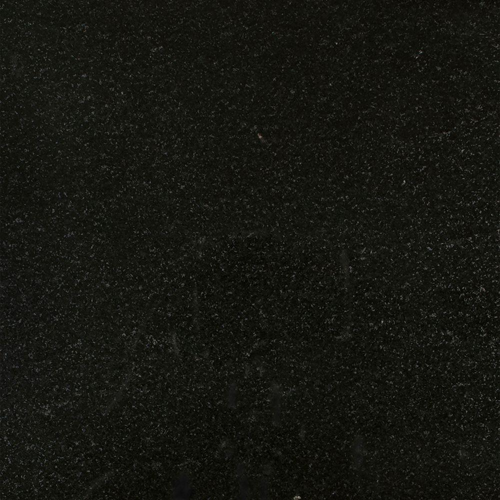 3 in. x 3 in. Granite Countertop Sample in Absolute Black