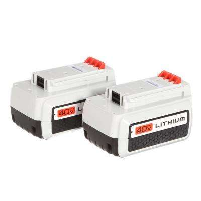40-Volt MAX 1.5Ah Lithium-Ion Battery (2-Pack) - Charger Not Included