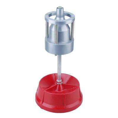 Portable Pro Steel Hubs and Wheel Balancer with Bubble Level for Heavy-Duty Rims and Tires of Cars/Trucks