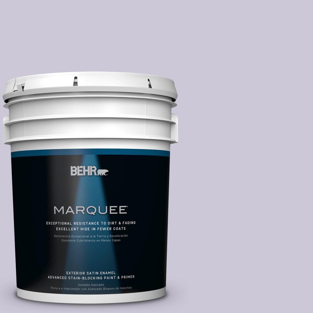 BEHR MARQUEE 5-gal. #S570-2 Magic Scent Satin Enamel Exterior Paint