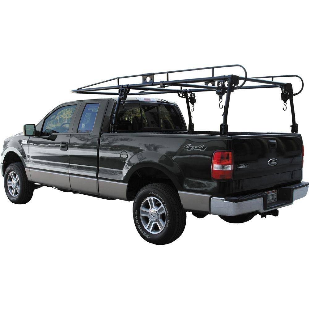 Truck Lumber Rack >> Buyers Products Company Pickup Truck Black Ladder Rack 1501100 The