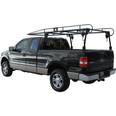 Pickup Truck Black Ladder Rack