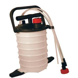 Fluid Extractor with Dual Action Vacuum Pump