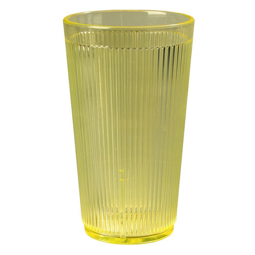 20 oz. Polycarbonate Tumbler in Honey Yellow (Case of 48)