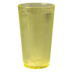Carlisle 20 oz. Polycarbonate Tumbler in Honey Yellow (Case of 48) by Carlisle