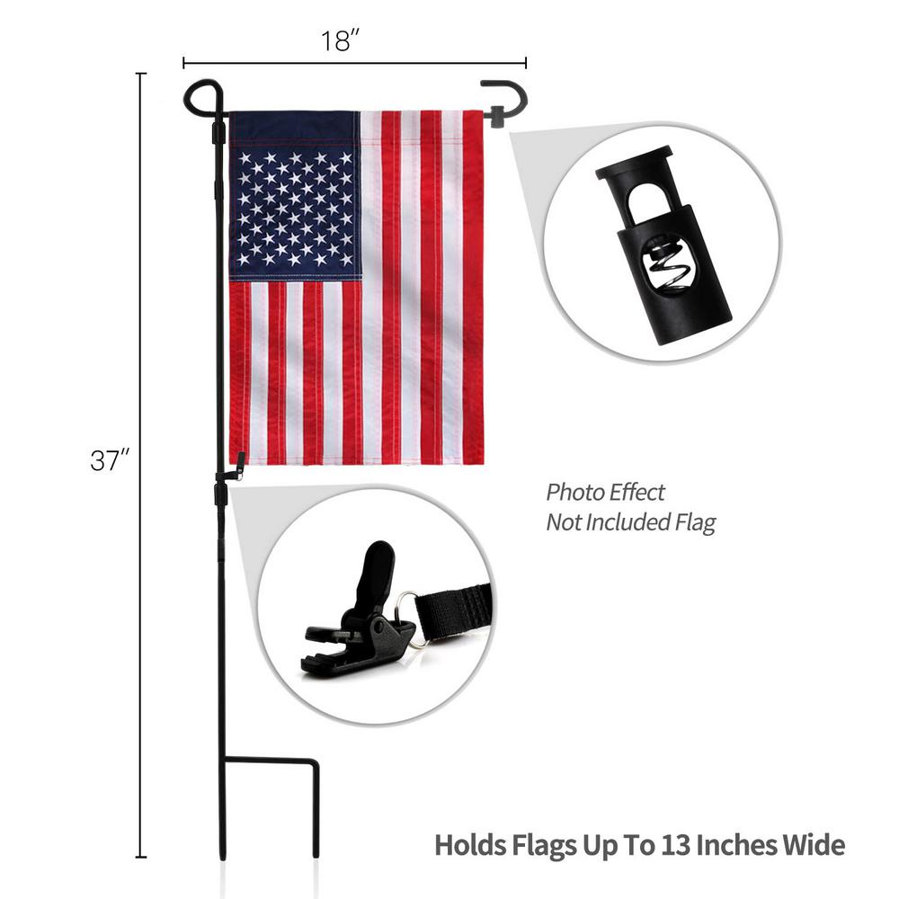 Solid Black Replacement Flag NEW 2 pk