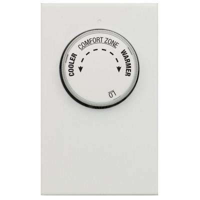 Single Pole 2-Wire Line Voltage Mechanical Thermostat