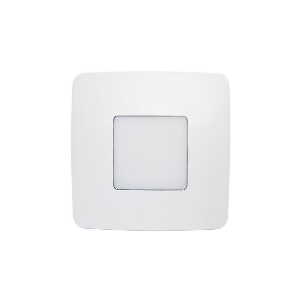 ReVent 80 CFM Easy Installation Bathroom Exhaust Fan With