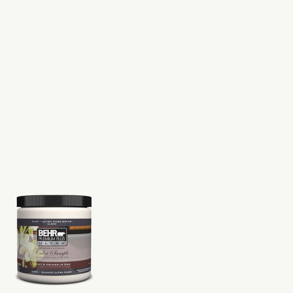 #7050 Ultra Pure White Flat Interior/Exterior Paint And Primer