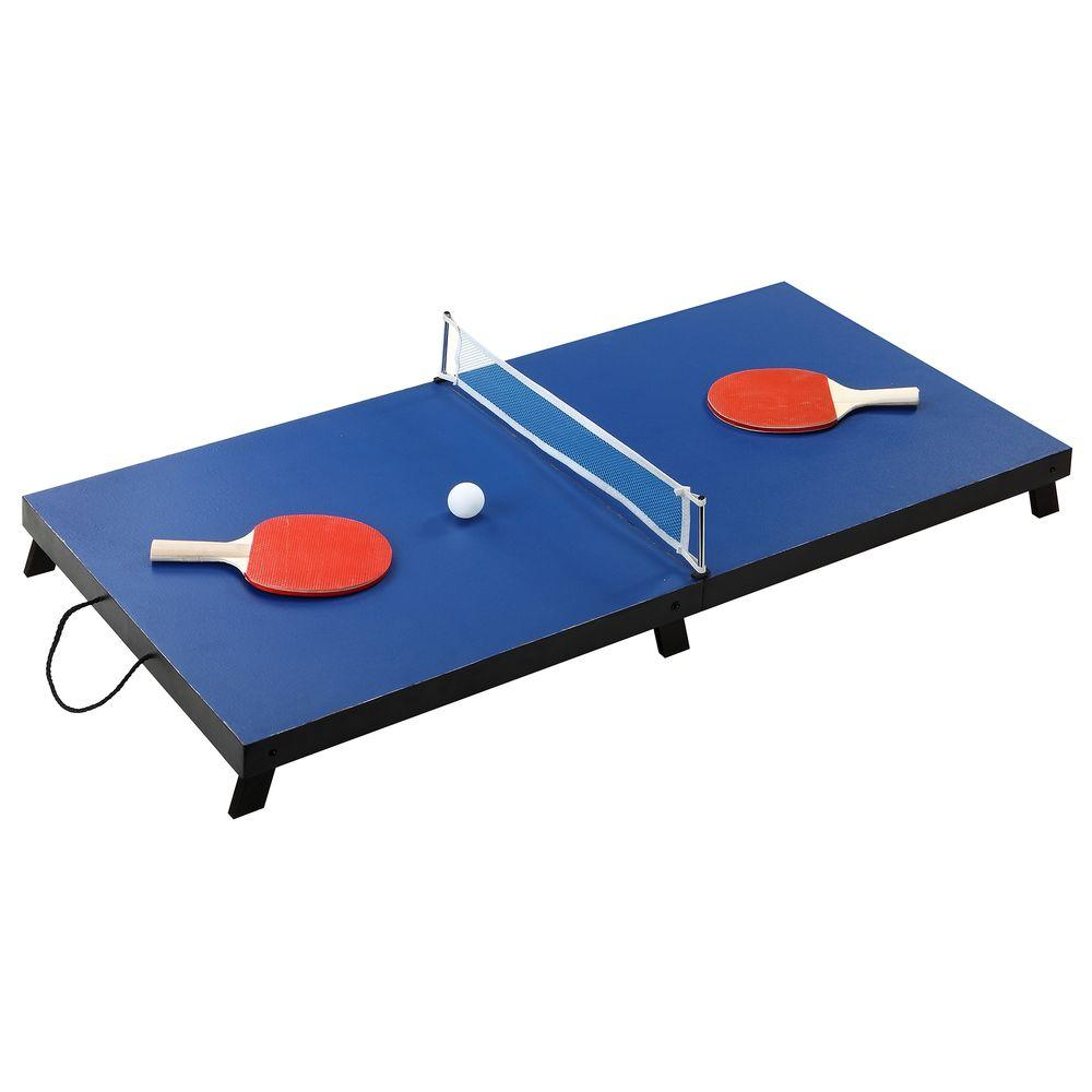 Portable Table Tennis Set-BG1025T - The Home Depot  sc 1 st  The Home Depot & Hathaway Drop Shot 42 in. Portable Table Tennis Set-BG1025T - The ...