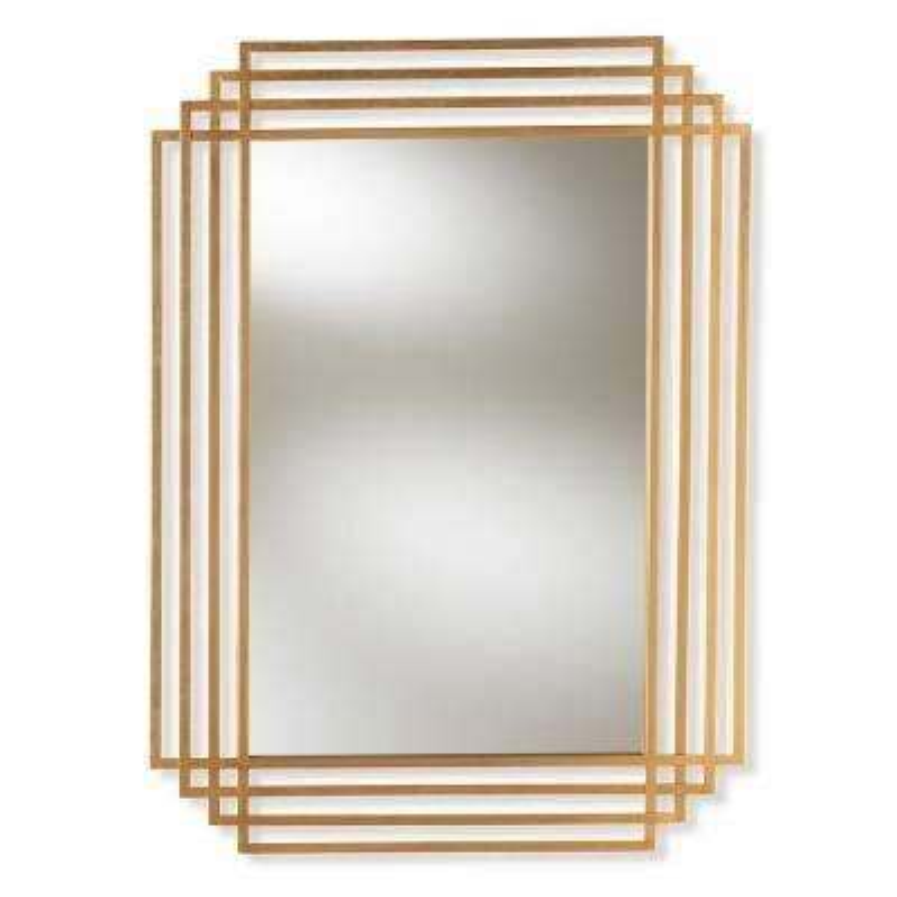 Kalinda Antique Gold Wall Mirror