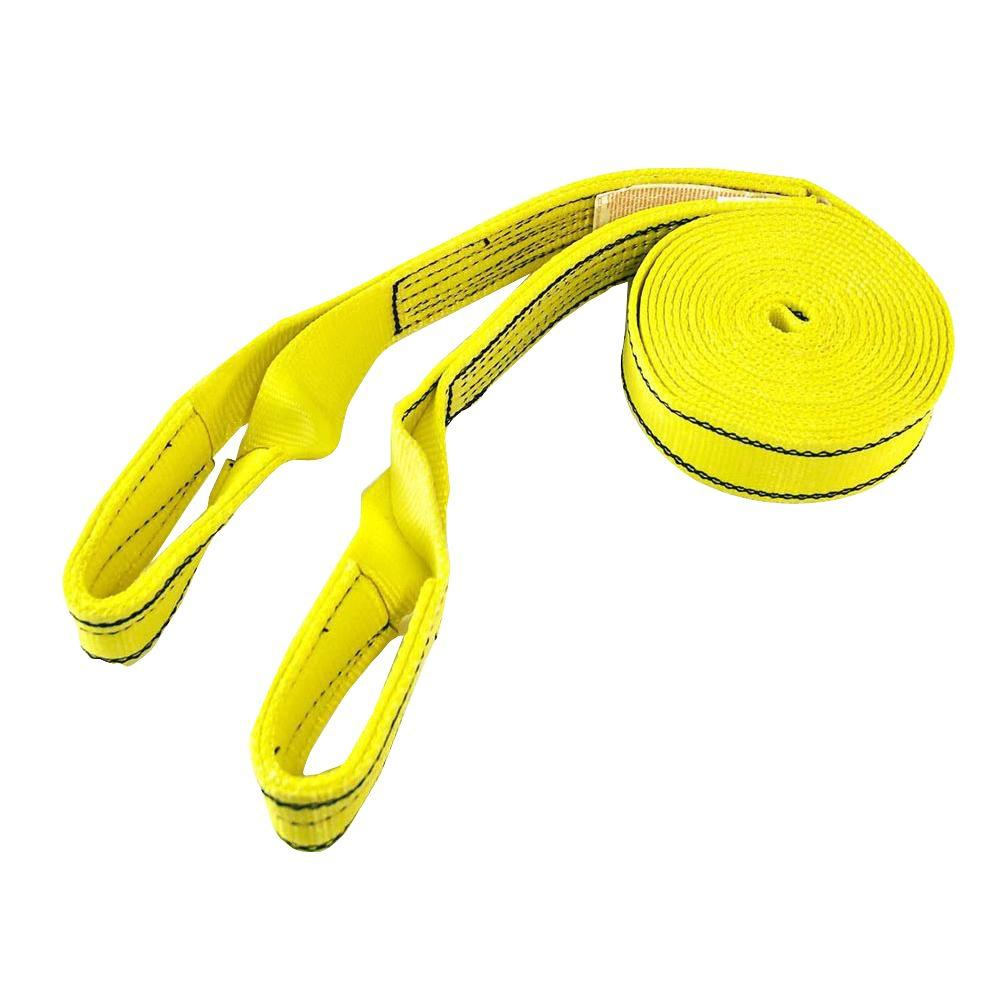 Cargo Boss 20,000 lb. 30 ft. x 2 in. Recovery Tow Strap with Loops