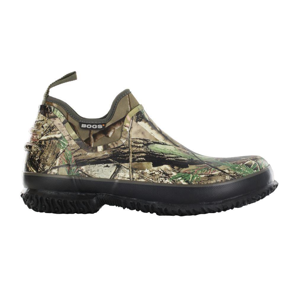 BOGS Field Trekker Camo Men Size 10 Realtree Waterproof Rubber Slip-On Hunting Shoe