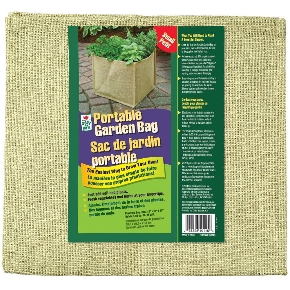 Easy Gardener 22 In. X 11 In. Portable Medium Garden Bag 40126H   The Home  Depot